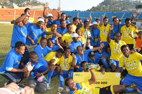 Football- Ligue des champions: La CNaPS s'offre une deuxième étoile !