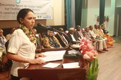 EFOI : Les femmes Malgaches  brillent au Forum des Comores