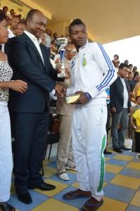 Le défenseur central de Tana Formation est élu meilleur joueur 2013.