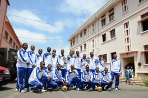 L'équipe de la GNVB termine la compétition à la 5e place. (Photo d'Archives)