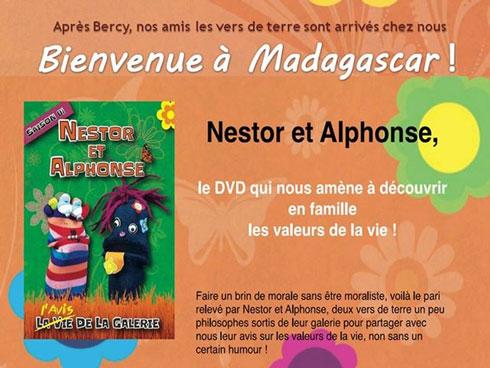 Journée mondiale des droits des enfants : Nestor et Alphonse en vedette