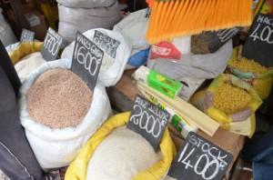 Les prix affichés hier à Antananarivo.