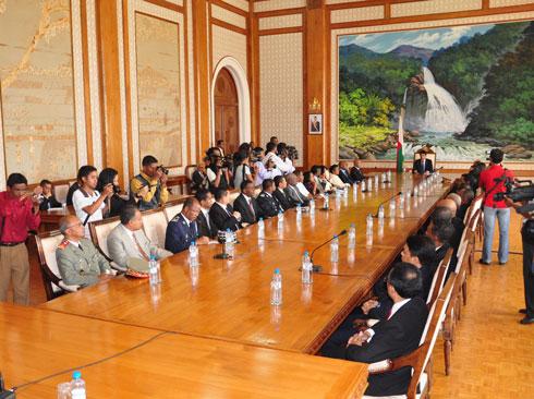 Conseil des ministres : 3 Généraux et 5 Colonels nommés Chefs de région
