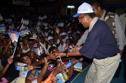 Hery Rajaonarimampianina : « L'union fait la force »
