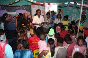 Dadou a rendu visite à l'« Akany Fanorenana » d'Ankorondrano.