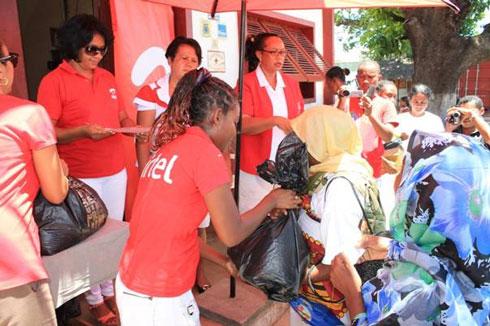 Mahajanga : Appui d'Airtel aux sinistrés de « Deliwe »