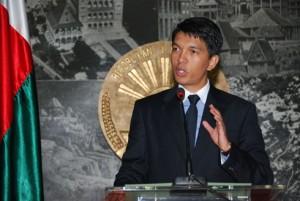 Andry Rajoelina a effectué son dernier discours en tant que président de la Transition.
