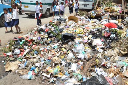 Insalubrité : Les bacs à ordures débordent!