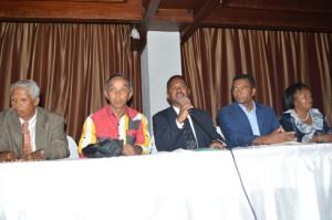 Ces grands commis de l'Etat sont déterminés à apporter leur contribution pour éviter une guerre civile à Madagascar.