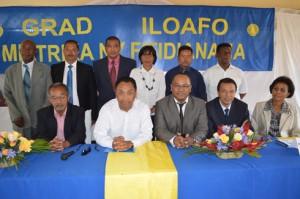 Le parti Grad Iloafo se plie au verdict de la Cour Electorale Spéciale sur le second tour de la Présidentielle.