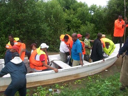 Mahajanga : Les bas quartiers sous l'eau