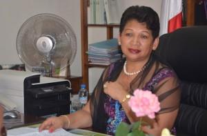 « Ceux qui nous succéderont vont bénéficier des fruits de nos efforts », déclare le ministre du Commerce, Olga Ramalason lors de la présentation du bilan de son département.