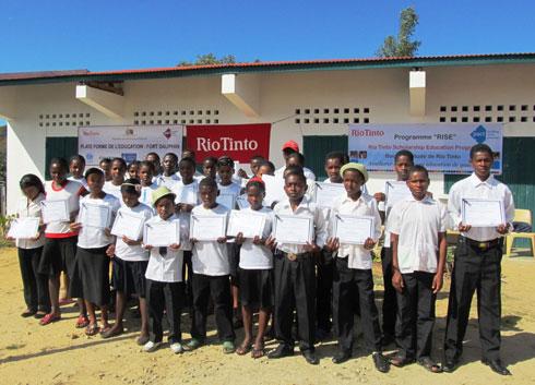 Programme RISE : Un bilan positif pour 2013