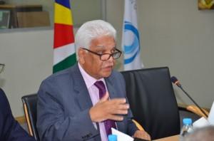 Jean Claude de l'Estrac, le secrétaire général de la COI a déclaré que 2014 sera une année de toutes les ambitions.