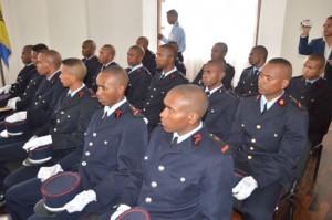 Les nouveaux diplômés de la promotion «Loharano».
