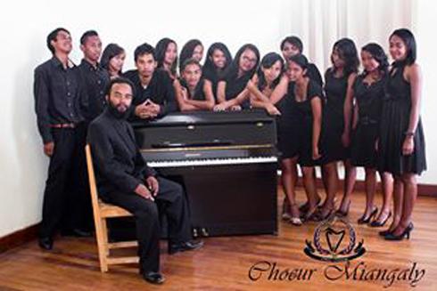 Chant polyphonique : « Une Saint Valentin en Chœur » avec le chœur Miangaly à l'IKM Antsahavola