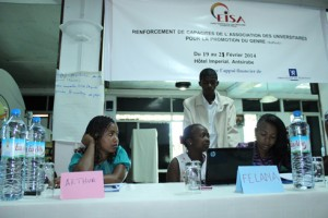 Les participants lors de cet atelier sur le Genre à Antsirabe.