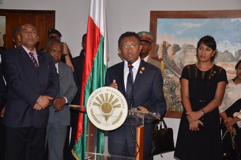 Hery Rajaonarimampianina : « Le gouvernement doit refléter la réconciliation nationale »