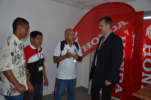 Moto – 4H Honda 2014 : 40 équipages se mesureront à Ambohimanga !