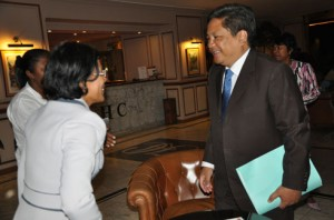 Mamy Rakotoarivelo n'exclut pas l'accession d'une personnalité de la mouvance Ravalomanana au poste du premier ministre de Hery Rajaonarimampianina.
