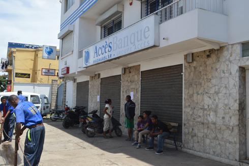 Access banque : Une centaine de millions braquée de bon matin