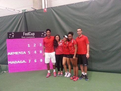 Tennis fed cup : Madagascar termine 9ème sur 12