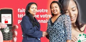 Partenariat gagnant entre APEM PAIQ représente son DG,  Mme Rihatiana et Airtel Money représente son Corporate Manager Mme Zoé Rajhonson.