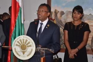 Le Président Hery Rajaonarimampianina quittera le pays demain pour rejoindre son épouse qui est partie hier soir