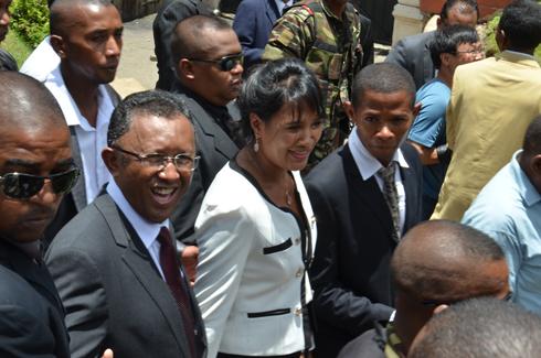 Hery Rajaonarimampianina : Le couple présidentiel dans le Sud-Est ce week end