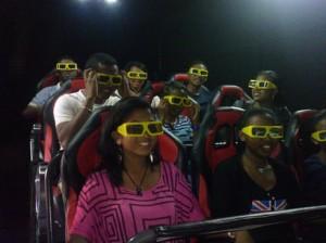 Le cinéma 12D fait son entrée au cinéma extrême.