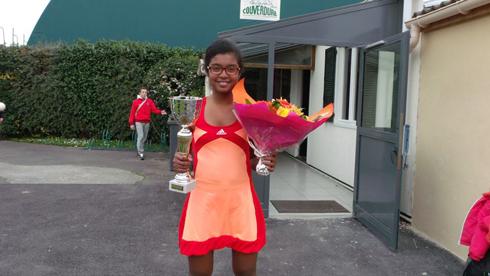Tennis : Randy championne à Claye Souilly