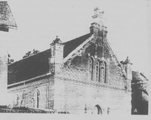 L'Eglise protestante Tranozozoro Antranobiriky, FMTA Ambatonakanga.