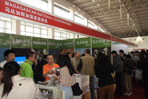 COTTM 2014 : Le stand de Madagascar envahi par les professionnels chinois