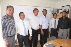 Les membres du comité de la CAN 2015.