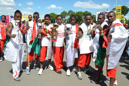 Kick-boxing – Championnat d'Afrique : Un accueil somptueux pour les héros !