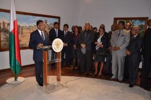 Hery Rajaonarimampianina a déclaré que le nom du Premier ministre sera connu dans les prochains jours. (Photo Kelly)