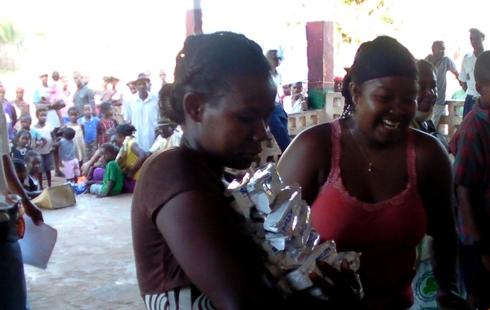 Soalala : 25 tonnes d'aides alimentaires pour les sinistrés de Hellen