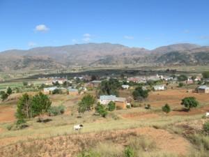 Le village de Manandona à 15 Km d'Antsirabe.
