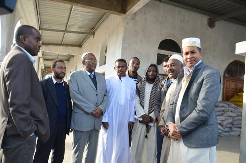 Ulrich Andriantiana et Rachid Mohamed : Don pour les 6 mosquées de Tana au nom du Président