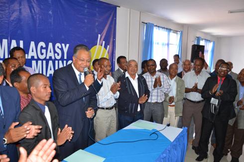 Concertation nationale ce jour : « Blocage du processus électoral », selon le MMM