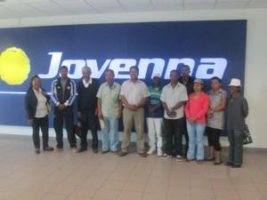 Les heureux gagnants de la Tombola de l'Indépendance de Jovenna Madagascar.