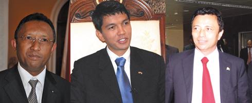 Hery- Ravalo- Rajoelina : Fragile alliance d'intérêts