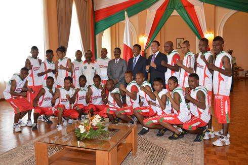 Kick-Boxing – Championnats du monde : Le « tso-drano » du Président Rajaonarimampianina aux kickers