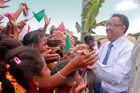Hery Rajaonarimampianina : Quatre « Zava-bita » inaugurés à Nosy be