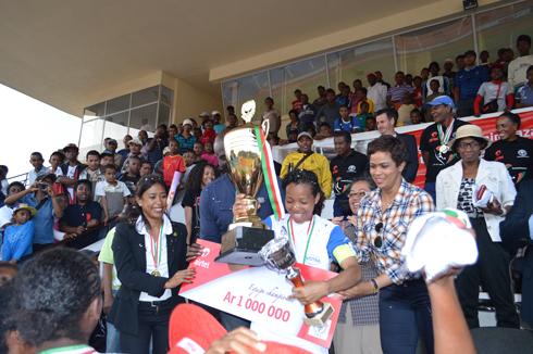 Football – Sommet féminin : Sacre de SabNam d'Analamanga