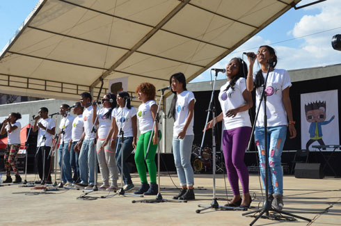 « Le chant des chorales » : As'ka, Vray et Telo sy telo sur le podium !