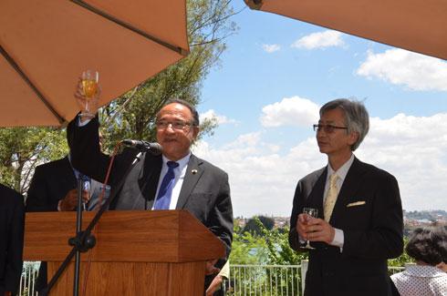 Ambassadeur japonais : « Il faudrait surtout la stabilité politique »