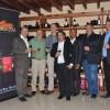 Des représentants de Namaqua Wines lors d'une soirée de dégustation. (Photo : Yvon Ram)