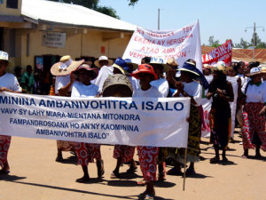 Les associations féminines. Photo Anastase