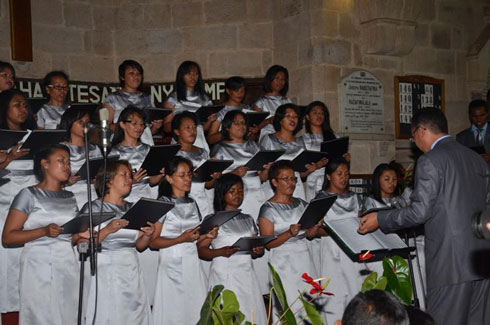 Chorale Orimbato : Un concert de Noël sous le signe de l'amour du Seigneur
